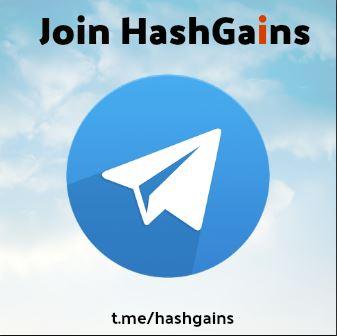 HashGains Telegram Duscussion